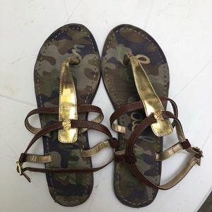 Sam Edelman Camo Sandals